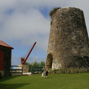 2009-01-02 Barbados, old sugar windmill
