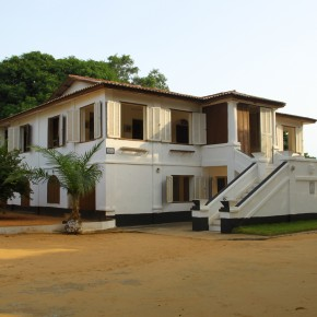 2011-04-07 Benin, Ouidah Slavery Museum, named for St. John the Baptist which was the name of the Fort which protected the slavers in this coastal area