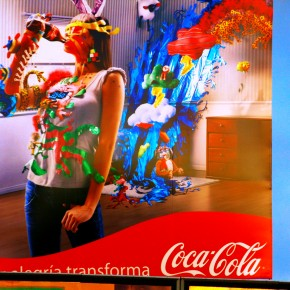 2009-03-07 San Jose Costa rica, Coke Advertising
