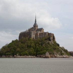 2010-05-07 Mont St. Michel, France an exquisite monastery built on a stone outcrop - closer view
