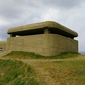 2010-05-08 Guernsey, United Kingdom, this is a Nazi WWII bunker preserved as a monument to the end of war