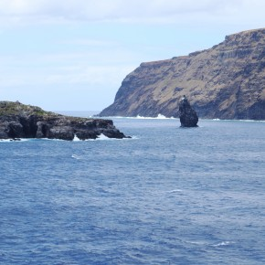 2011-02-12 Easter Island - The little island of Orongo which was the focus of the Bird Cult