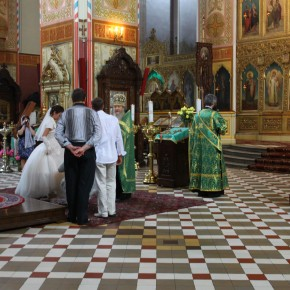2011-06-17 Estonia Tallin wedding inside Alexander Nevsky Cathedral