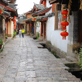 2011-09-24 China Lijiang old town street
