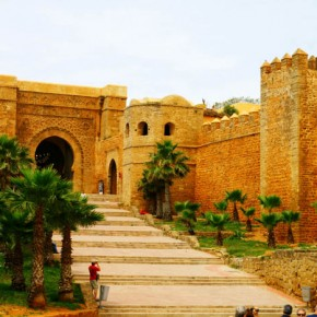 Entrance to the Kasbahh of the Udayas, Rabat