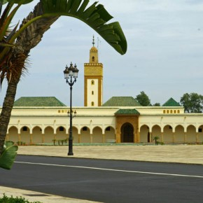 Rabat Royal compound and mosque