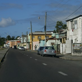 2008-12-29 St. Kitts Basseterre is a very typical Caribbean town.