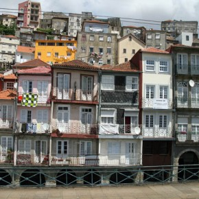 2010-04-29 Oporto, Portugal view of historic district from across the Douro River