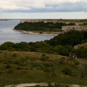 2010-09-05 Sweden, Stora Kalsö - it is a rugged and beautiful little island with high limestone cliffs.