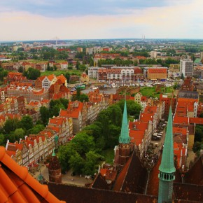 2011-06-14 Poland Gdansk St. Marys Basilica Tower (7)