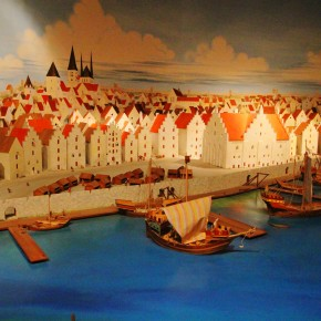 2011-06-20 Sweden Visby Gotland museum reconstruction of the trading port