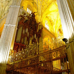 Inside of the Cathedral of Seville