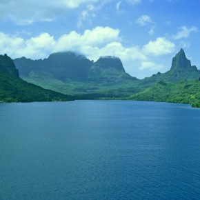 Opunohu Bay, Moorea, Society Islands