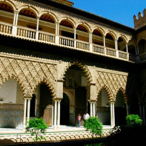 The Alcazar or Seville was a Moorish Fort and palace later used by Christian monarchs