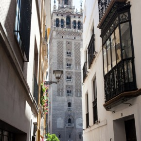 This ancient minaret turned bell tower shows Seville's mixed cultural past